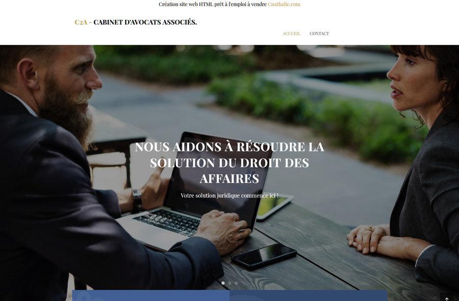 En Vente Site internet existant d'avocat - Cabinet d'avocat